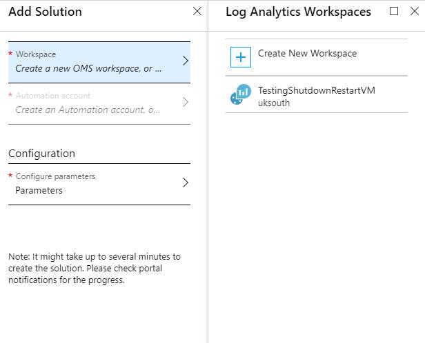 Azure VM start/stop schedule using Azure Automation